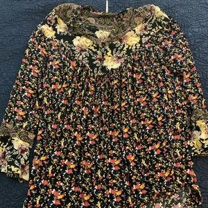 Free People Patterned Tunic